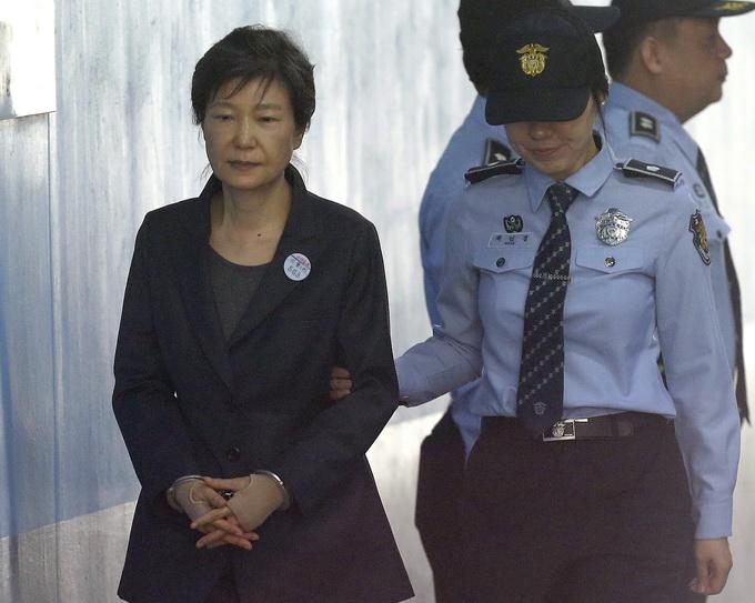 定了 韩国前总统朴槿惠累计获刑22年 京报网