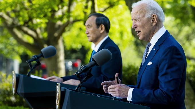 百事3官网:美日联合声明提台湾,系52年来首次,中国驻美大使馆回应(图1)