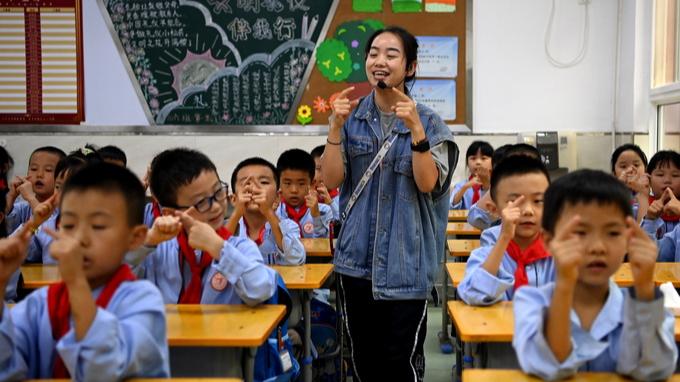 北京市新一轮教师交流轮岗实行两周  已经显现出可喜的效果